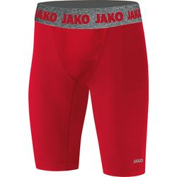 Jako Compression 2.0 Cuissard Mi-Long Enfants - Rouge