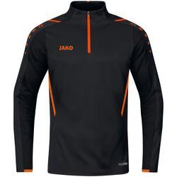 Jako Challenge Ziptop Hommes - Noir / Orange Fluo
