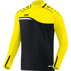 Jako Competition 2.0 Sweater - Zwart / Fluogeel