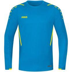 Jako Challenge Sweater Heren - Jako Blauw / Fluogeel