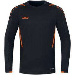 Jako Challenge Sweater Kinderen - Zwart / Fluo Oranje