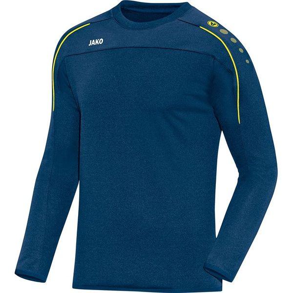 Jako Classico Sweater Kinderen - Nachtblauw / Citroen