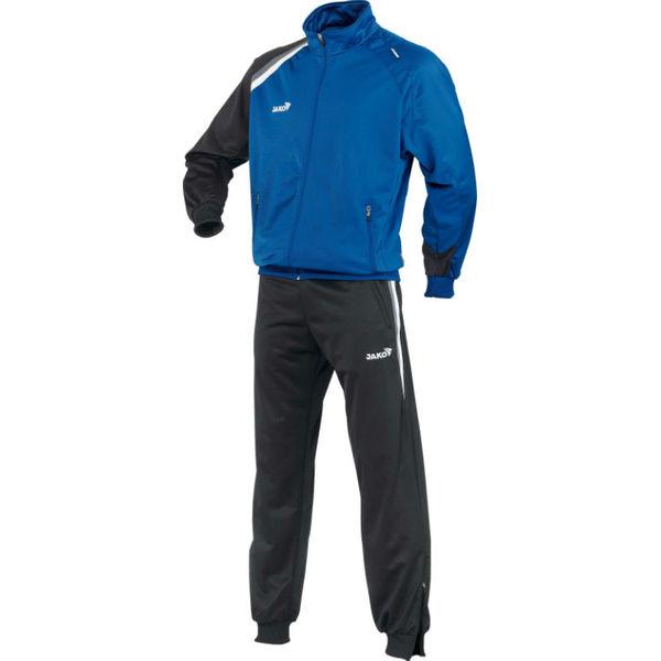 Jako Premium Polyesterpak Heren - Royal / Zwart / Grijs / Wit