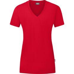 Jako Organic T-Shirt Dames - Rood