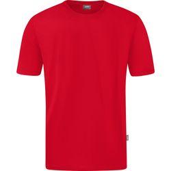 Jako Doubletex T-Shirt Heren - Rood