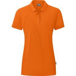 Jako Organic Polo Dames - Oranje