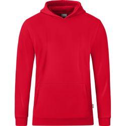 Jako Organic Sweater Met Kap Kinderen - Rood
