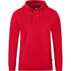 Jako Organic Sweater Met Kap Heren - Rood