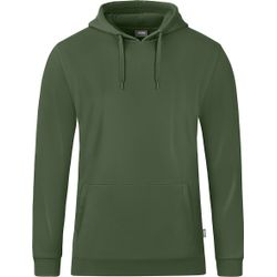 Jako Organic Sweater Met Kap Heren - Olijf