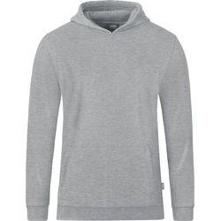 Jako Organic Sweater Met Kap Kinderen - Lichtgrijs Gemeleerd