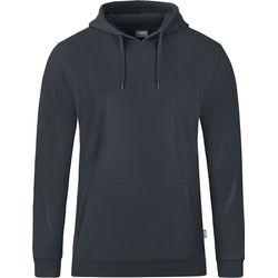 Jako Organic Sweater Met Kap Heren - Antraciet