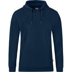 Jako Organic Sweater Met Kap Heren - Marine