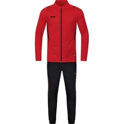 Jako Challenge Polyesterpak Dames - Rood / Zwart