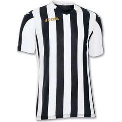 Voorvertoning: Joma Copa Shirt Korte Mouw Kinderen - Zwart / Wit