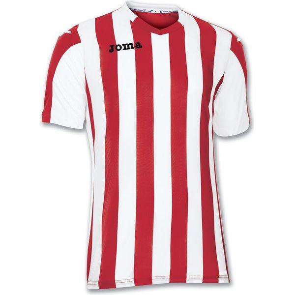 Joma Copa Shirt Korte Mouw Heren - Rood / Wit