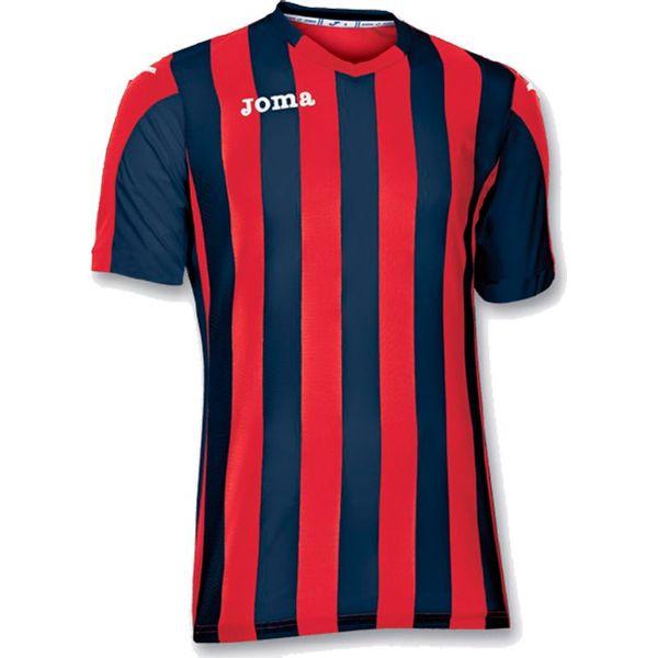 Joma Copa Shirt Korte Mouw Heren - Rood / Marine