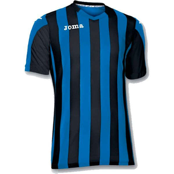 Joma Copa Shirt Korte Mouw Kinderen - Royal / Zwart