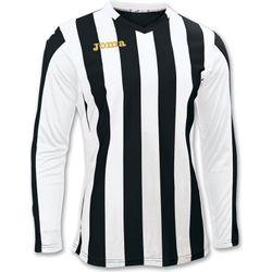 Joma Copa Voetbalshirt Lange Mouw Kinderen - Zwart / Wit