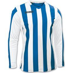 Joma Copa Voetbalshirt Lange Mouw Kinderen - Royal / Wit