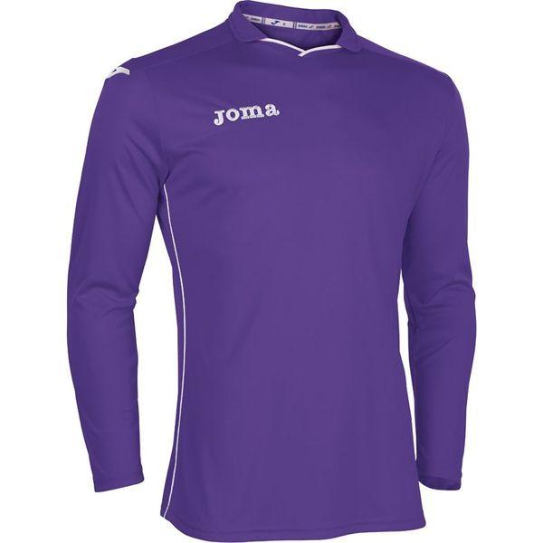 Joma Rival Voetbalshirt Lange Mouw Kinderen - Violet / Wit