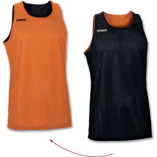 Joma Aro Reversible Shirt Kinderen - Oranje / Zwart