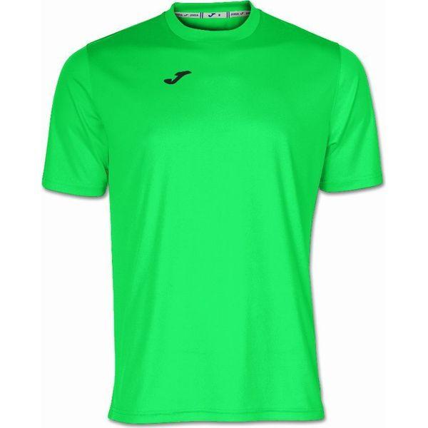 Joma Combi Shirt Korte Mouw - Fluo Groen