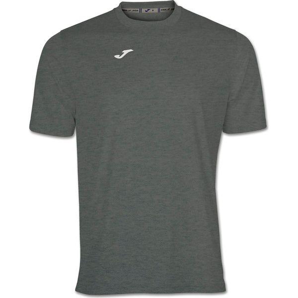 Joma Combi Shirt Korte Mouw - Donkergrijs Gemeleerd