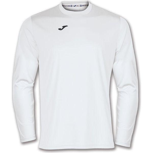 Joma Combi Voetbalshirt Lange Mouw Kinderen - Wit
