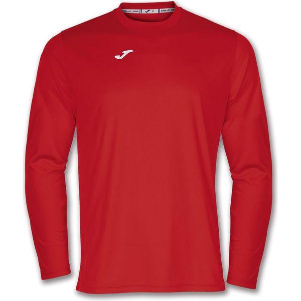 Joma Combi Voetbalshirt Lange Mouw Kinderen - Rood