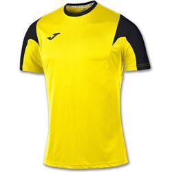 Joma Estadio Shirt Korte Mouw Heren - Geel / Zwart