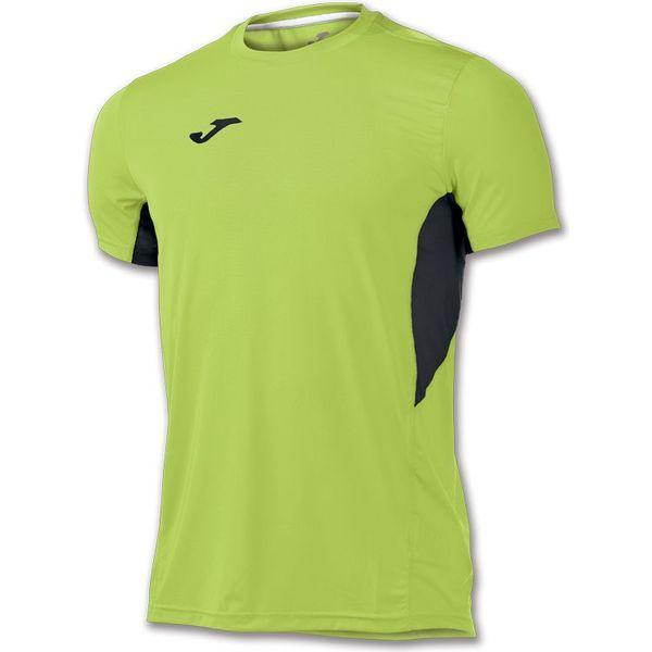 Joma Record II T-Shirt Heren - Fluo Groen / Zwart
