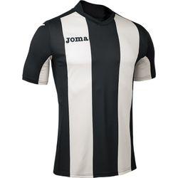 Joma Pisa Shirt Korte Mouw Heren - Zwart / Wit