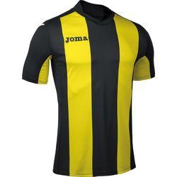Joma Pisa Shirt Korte Mouw Heren - Zwart / Geel