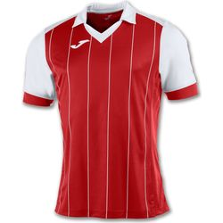 Joma Grada Maillot Manches Courtes Hommes - Rouge / Blanc