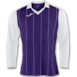 Joma Grada Voetbalshirt Lange Mouw Kinderen - Paars / Wit