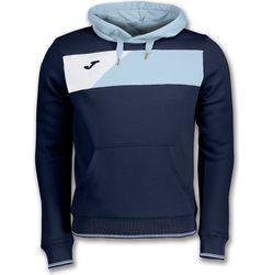 Joma Crew II Sweater Met Kap Heren - Marine / Lichtblauw / Wit
