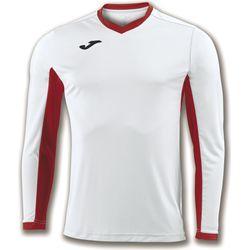 Joma Champion IV Voetbalshirt Lange Mouw Heren - Wit / Rood