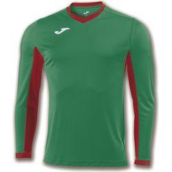 Joma Champion IV Voetbalshirt Lange Mouw Heren - Groen / Rood