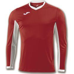 Joma Champion IV Voetbalshirt Lange Mouw Kinderen - Rood / Wit