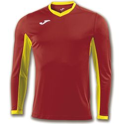 Joma Champion IV Voetbalshirt Lange Mouw Heren - Rood / Geel