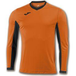 Joma Champion IV Voetbalshirt Lange Mouw Heren - Oranje / Zwart