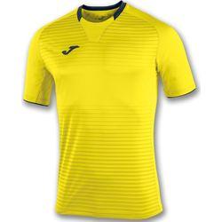Joma Galaxy Shirt Korte Mouw Heren - Geel / Marine