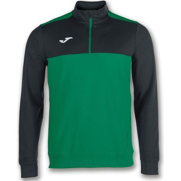 Joma Winner Ziptop Heren - Groen / Zwart