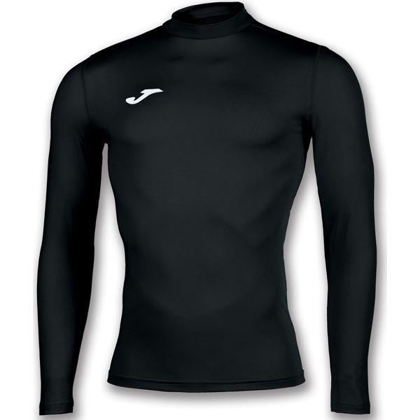 Joma Academy Shirt Opstaande Kraag Kinderen - Zwart