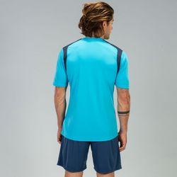 Voorvertoning: Joma Champion V Shirt Korte Mouw Heren - Fluor Turquoise / Donker Navy
