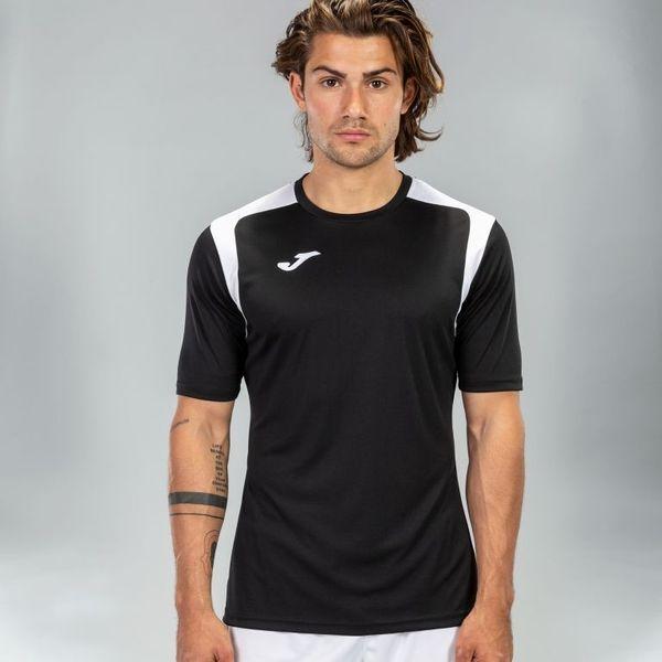 Joma Champion V Shirt Korte Mouw Heren - Zwart / Wit