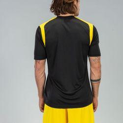 Voorvertoning: Joma Champion V Shirt Korte Mouw Heren - Zwart / Geel