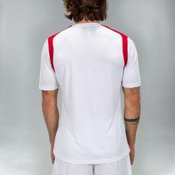 Voorvertoning: Joma Champion V Shirt Korte Mouw Heren - Wit / Rood