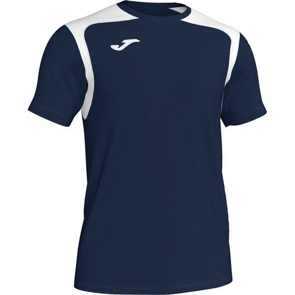 Joma Champion V Shirt Korte Mouw Heren - Donker Navy / Wit