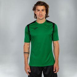 Voorvertoning: Joma Champion V Shirt Korte Mouw Heren - Groen / Zwart